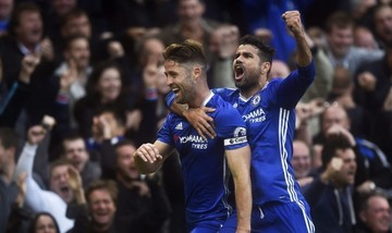 Hazard y Diego Costa impulsan al Chelsea