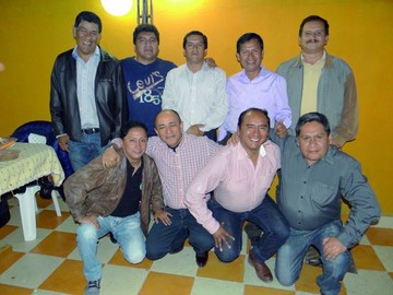 Reunión de ex compañeros del Zudáñez