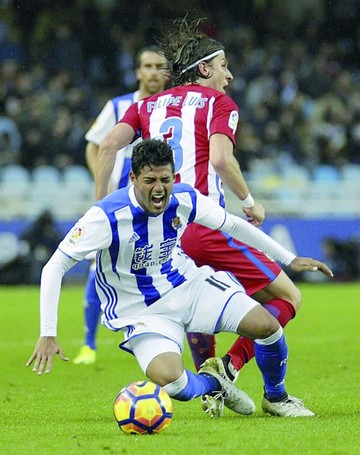 Atlético sucumbe ante Real