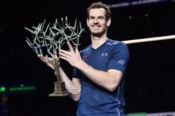 Murray sufre pero logra el título en París