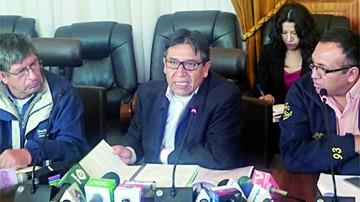 Choquehuanca rechaza posición de Chile