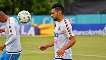 Falcao comanda la primera sesión de Colombia