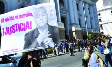 "Víctimas de ""octubre negro"" enviarán carta a Trump para extraditar a Goni"