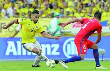 La Roja obtiene valioso empate frente a Colombia