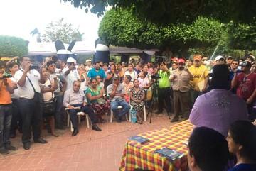 Más de 120 víctimas expresan denuncias a titular del Ministerio de Justicia en Puerto Suárez