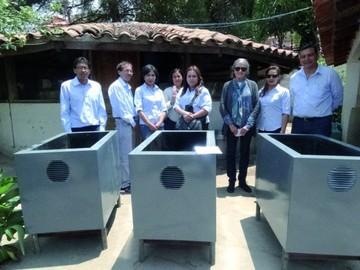 Rotary La Plata entrega tanques a Oqharikuna