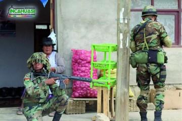 Incahuasi es sede de maniobras militares