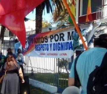 Piden considerar pedido de asilo de sindicalistas