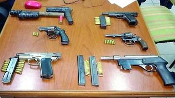 Policía secuestra armas a hinchas en Argentina