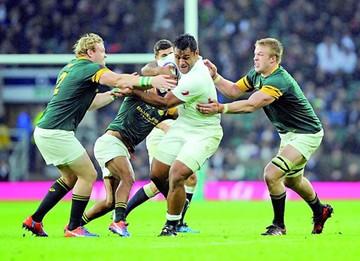 Rugby: Inglaterra rompe maleficio ante Sudáfrica