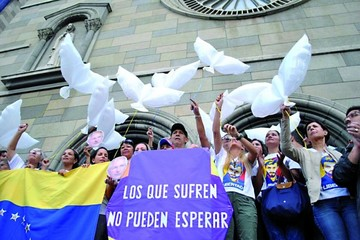 Se reactivan marchas de opositores en Venezuela