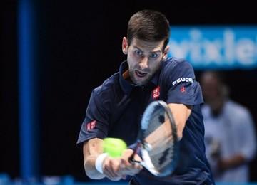 Djokovic reacciona en  el Torneo de Maestros
