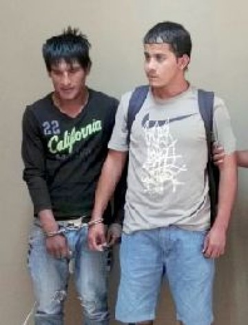 Sucre: Presentan a dos presuntos delincuentes