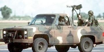 Ejército utilizará vehículos armados en las fronteras