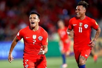 Alexis Sánchez lidera la remontada de Chile ante Uruguay
