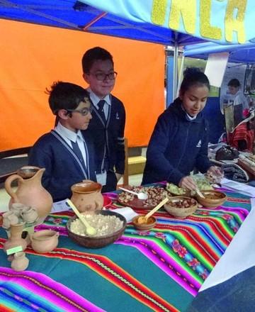 Feria del Sagrado Corazón explora Bolivia y América