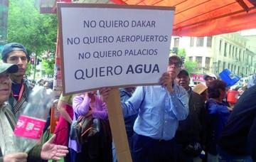 Agua: Chuquisaca exige mismo trato que se da a La Paz
