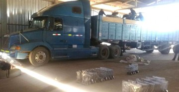 Perú: Detienen convoy de droga en la frontera