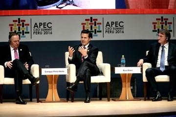 """México está en una etapa de """"privilegiar diálogo"""" con EEUU: Peña Nieto"""