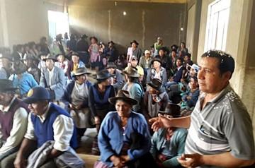Mojocoya busca refrendar su autonomía indígena
