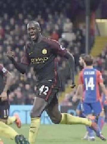 Yaya Touré impulsa al City