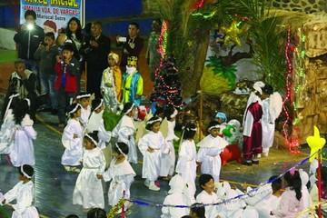 Kinder en Sucre se anticipa a la Navidad