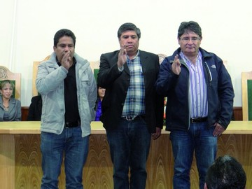 Posesión del Directorio CIAB Chuquisaca