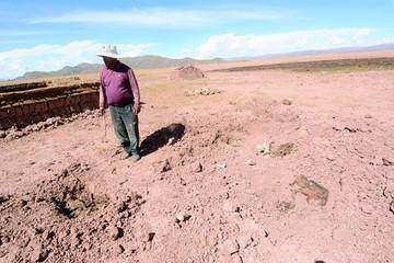 Lago Uru Uru desaparece  y se lleva vida y esperanza