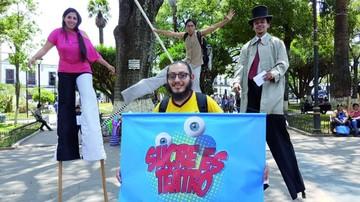 """Comienza festival """"Sucre es Teatro"""" con cinco grupos"""