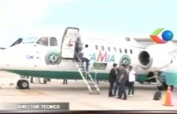 El Chapecoense esperaba que LaMia les diera mucha suerte como en Barranquilla