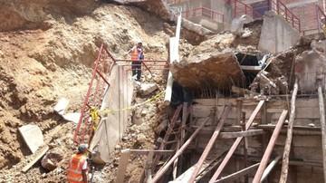 Escalinata se desploma cerca de El Morro
