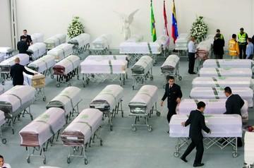 Brasil homenajea a víctimas del Chape