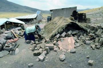 Siguen réplicas de sismo que dejó un muerto en Perú