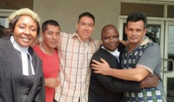 Nigeria: Tres bolivianos sentenciados por drogas