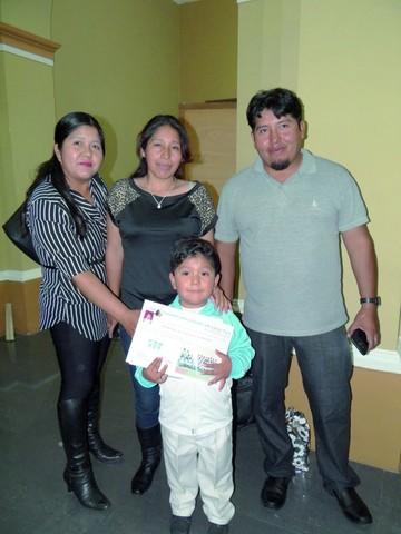 Acto de clausura del kinder Vaca Guzmán