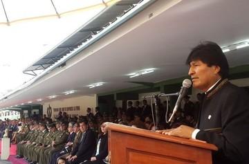 Morales pide a nuevos oficiales de la Policía cuidar y garantizar la seguridad del pueblo