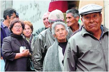 Pensión de los jubilados es  menor a la canasta familiar