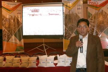 Presentan siete nuevas variedades de trigo de la región