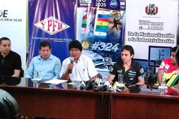 Presentan a los competidores bolivianos que estarán en el Dakar 2017