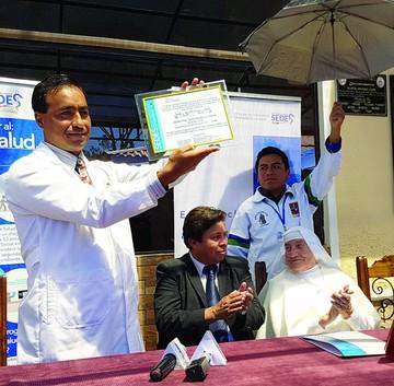 Hospital San Pedro Claver se acredita con excelencia