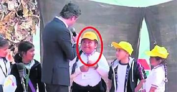 Niña de 8 años corrige a un ministro de Educación