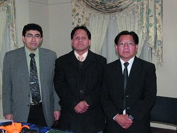 Posesión de la Sociedad Boliviana de Neumología