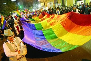 Colectivo LGBT en lucha por su reconocimiento