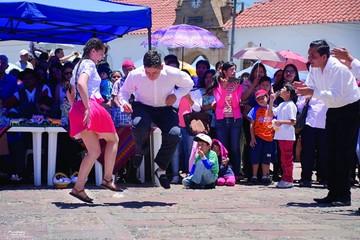 Tradiciones navideñas se celebran a lo grande en Sucre