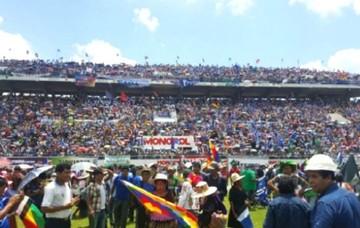 Campesinos garantizan continuidad de cambio y liderazgo de Morales en comicios de 2019