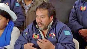 Campesinos afines al MAS ratifican apoyo a Morales