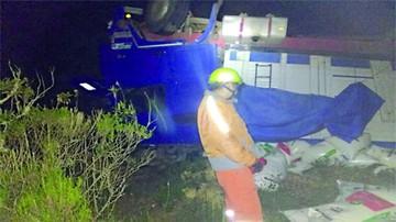 Viceministro y seis personas heridas en un accidente