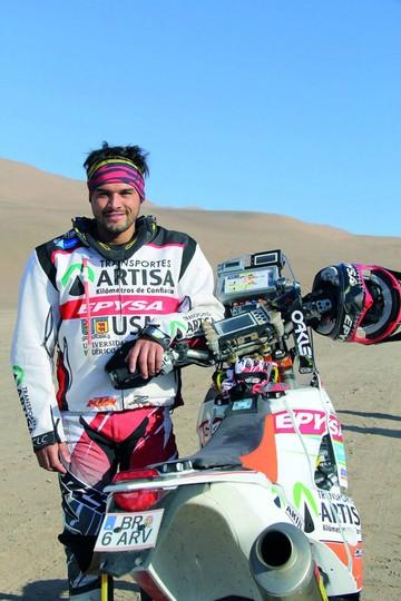 Chileno lamenta que Dakar no pase por su país