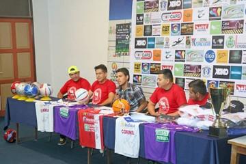 Organizan partido solidario