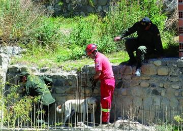 La Paz: Buscaron sin éxito rastros de Zarlet en un lote